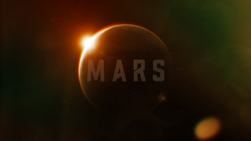 Mars title sequence